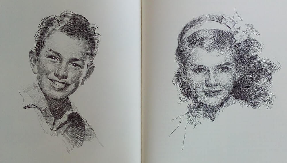 Andrew Loomis : Drawing The Head & Hands (écoliers)